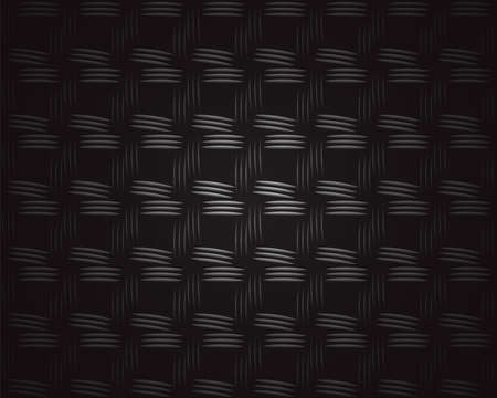 plastic texture: Closeup of black plastic weave as woven background texture or pattern. Square format.