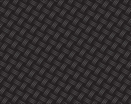 Wicker Black Carbon Background (seamless pattern) Vector