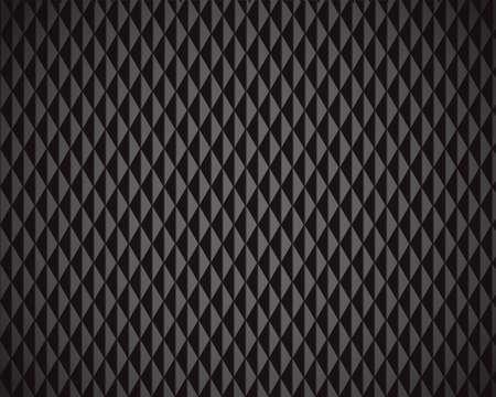 Abstract Black Diamond background - vector