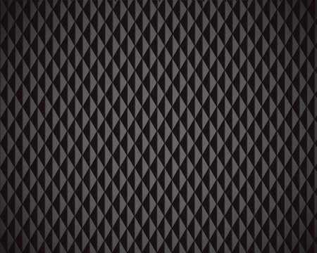Abstract Black Diamond background - vector