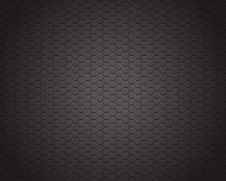Black carbon texture background Vector