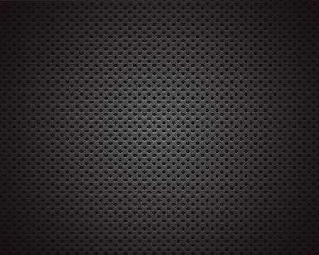 Black background of circle pattern texture Illustration