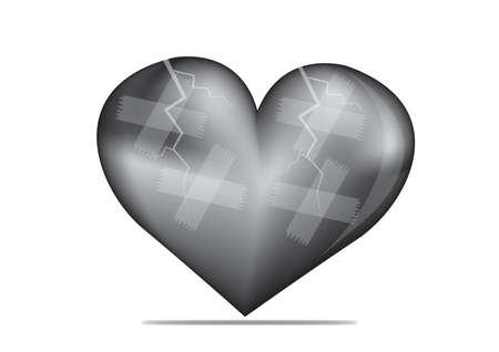 flowed: black heart