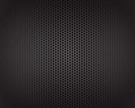 speaker grille pattern: grey metal background net pattern texture grey metal steel message board for text and message design Illustration