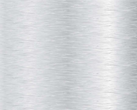 brushed steel: Metal texture background. Vector