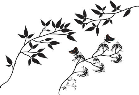 tree branches: Vector Collection of Tree Branches Illustration