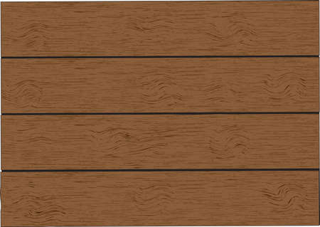 Wood plank brown texture background Illustration
