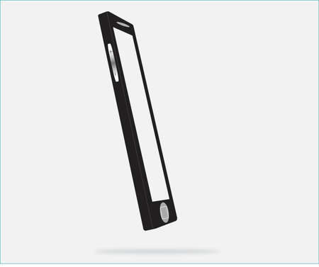 liquid crystal display: modern mobile phone