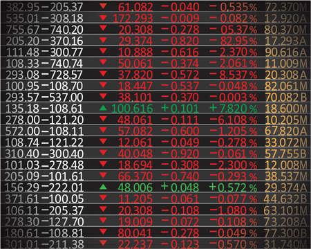 Börse graph Hintergrund