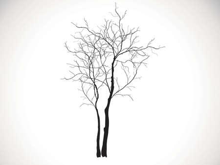 zwarte boom