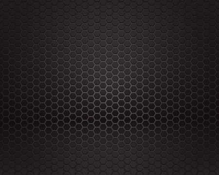 Black background of hexagonal pattern texture Zdjęcie Seryjne - 39782370