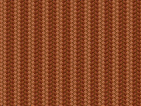 A realistic red carbon fiber weave background or texture