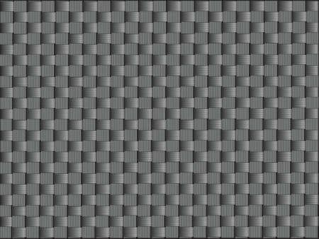 vezels: Koolstofvezel, gebonden dwars vezels, vector graphics.