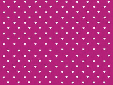 corazones polca patrón de puntos con la textura de color rosa Ilustración de vector