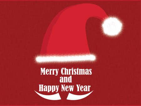 typographic: Christmas Typographic Background