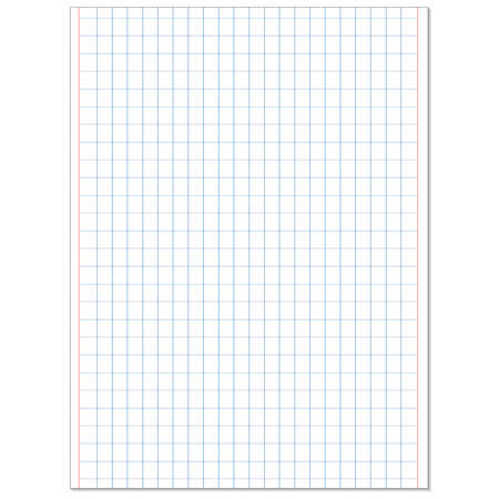 memo pad: School notebook paper sheet. Exercise book page background. Squared notepad backdrop