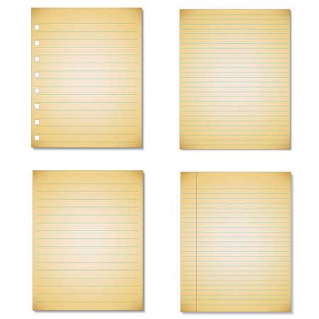 notebook paper: Set Notebook paper background