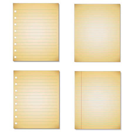 college ruled: Set sheet of Lined Paper.