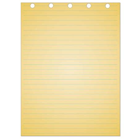 memo pad: Vintage lined paper