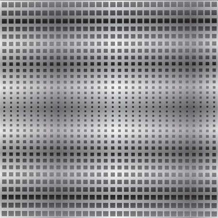 Metal mesh texture background with reflection. Illusztráció