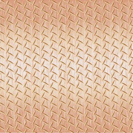 Steel diamond plate seamless pattern vector illustration