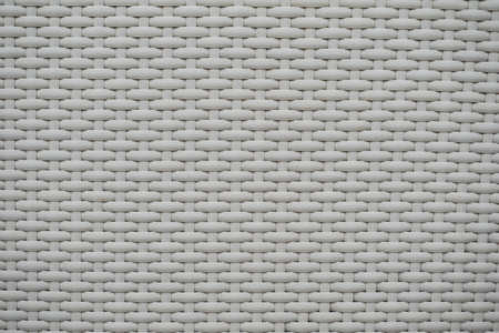 whilte rattan weave for closeup textured background