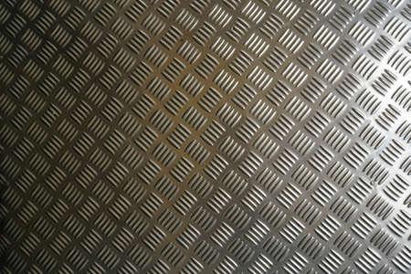 background of metal diamond plate Stockfoto