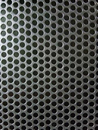 Metal speaker mesh texture Stockfoto
