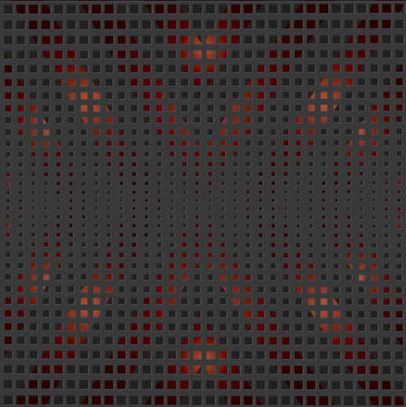 vector black and red background
