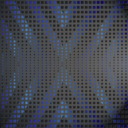 vector black and blue background Ilustracja