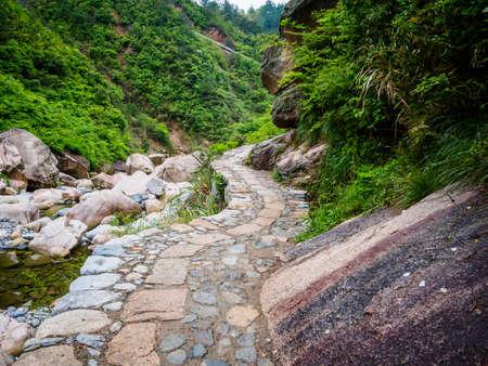 Huihang Ancient Trail Hiking Tour,  Mountains between Anhui and Zhejiang, China