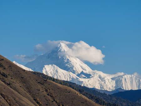 Gongga snow mountain, Sichuan, China. Banque d'images