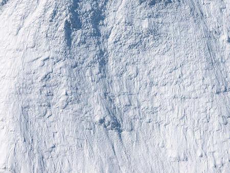 Gros plan de la montagne de neige. Banque d'images - 76069991