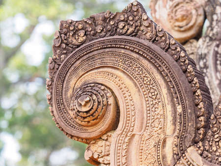 Banteay Srei castle, The most beautiful ancient castle in Cambodia
