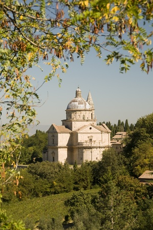 Madonna di San Biagio in Montepulciano, Tuscany, Italy photo