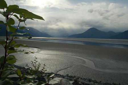 anchorage: Turnagain Arm near Anchorage, Alaska