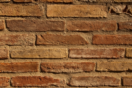An old brick background photo