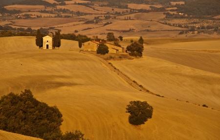 san quirico: Tuscany,Italy Stock Photo