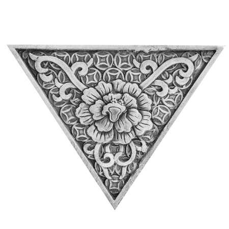 stucco: Stucco floral