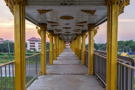 Overpass at sunset in Thailand