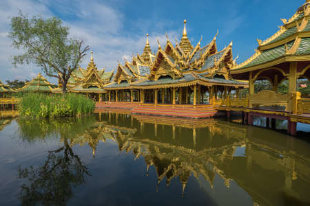 Enlightened City Hall is located in the ancient province of Samut Prakan