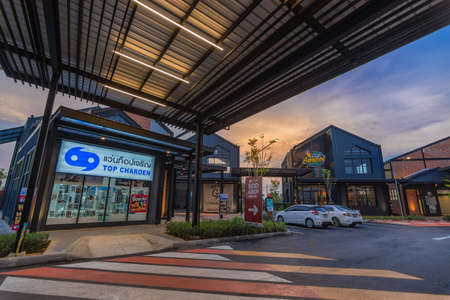 Ayutthaya,Thailand - March 7, 2018 :View in Porto Go Bangpa-in, McDonald's Restaurant in Ayutthaya,Thailand. McDonald's is an American hamburger and fast food restaurant chain Редакционное