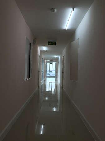 room: A corridor of room
