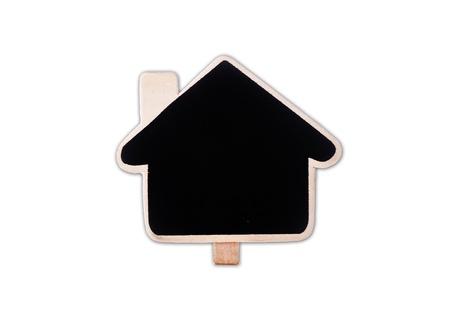 family house isolated logo photo