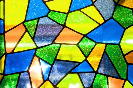 diagonals: multicolored mosaic background