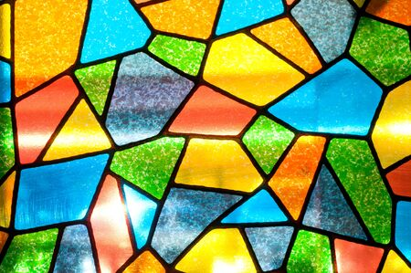 mosaic background: multicolored mosaic background
