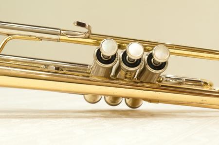 louis armstrong: closeup trumpet