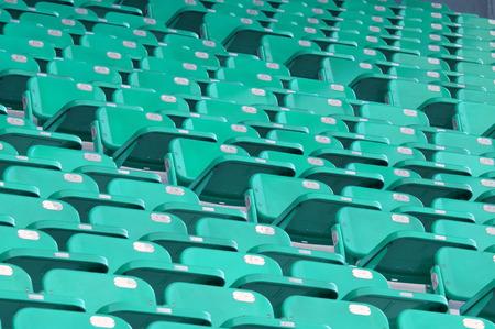 stadium chairs photo