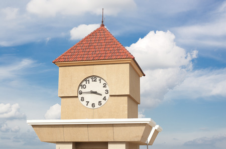 br: clock tower
