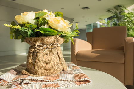 mixed flower bouquet: flower in living room